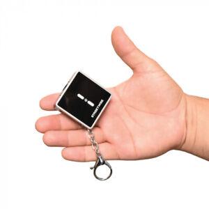 Square Off 26,000,000 Tiny Stun Gun /LED light and 110 dB alarm BLACK
