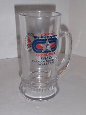 Bicycling Magazine Grand Prix Finals July 1985 Collectors Glass Handle Mug