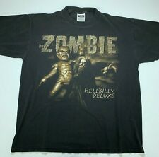 Rob Zombie Vintage Hell Billy Deluxe XL T Shirt 1998-99 Tour