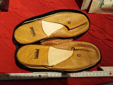Vintage Goldpfeil Caracciola Slippers carpet slipper Mercedes Sl Slc Slk Nos