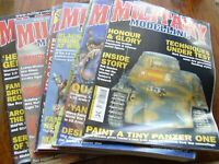 JOB LOT X 10 MILITARY MODELLING MODEL MAGAZINES 2003 TANKS SOLDIERS ETC