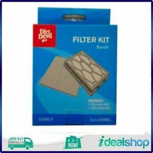 Dirt Devil Bandit Bagged Cylinder Filter - Suits DDBBC