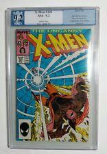 Uncanny X-Men Comic # 221 Pgx Graded 9.2 1st Mr. Sinister Nice!