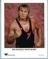 WWE OWEN HART P-209 OFFICIAL LICENSED AUTHENTIC ORIGINAL 8X10 PROMO PHOTO RARE