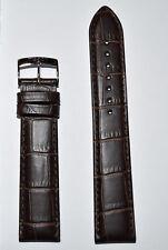 Original Tissot PR 100 20mm Brown Leather Band Strap For T101417 T101407 T101410