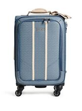 """GUESS NWT Nichols 4 Wheel 20"""" Roller Spinner Suitcase Travel Luggage"""