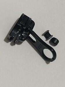 YKK NO-5 Water repellent slider/runner/puller black for W/R Nylon Coil zip+2stop