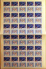 RUSSIA SOWJETUNION 1961 2474 B 2464 FULL SHEET Jurij Gagarin Space Raumfahrt MNH