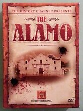 the history channel presents THE ALAMO  DVD