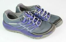 Merrell Women Size 6.5 All Out Rush Sneaker Trail Running Shoe gray purple