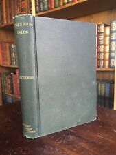 VINTAGE Twice Told Tales By Nathaniel Hawthorne Hardcover 1892 Edition