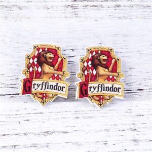 5 x 35MM HARRY POTTER GRYFFINDOR LASER CUT FLAT BACK RESIN HEADBANDS HAIR BOWS
