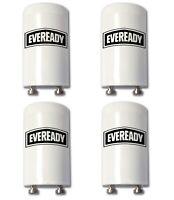 Eveready Fluorescent Starter 4-65W FSU 220-240V Light Tube Start FS-U - 4 Pack