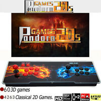 Hot Sale!! Pandora Box 20S 4263 2D&3D Games in 1 Home Arcade Console Retro Video