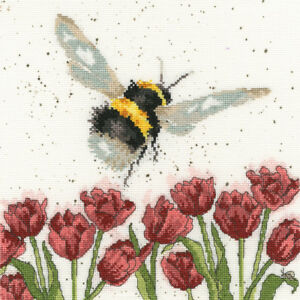 Bothy Threads ~ Counted Cross Stitch Kit ~ Flight of the Bumblebee ~ XHD41