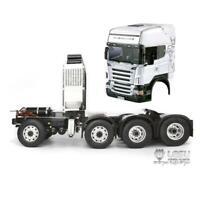 LESU DIY TAMIYA 1/14 RC Scania Tractor Truck Metal Chassis Motor Hercules Cabin