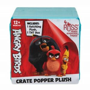 ANGRY BIRDS - Micro Plush Pop up TNT Blind Box Mystery Pack - Jazwares