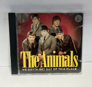 THE ANIMALS | WE GOTTA GET OUT OF THIS PLACE | CD | VGC | RARE