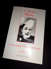 livre L´ALBUM MAISS avec LES PLUS GRANDS CLOWNS DU Axe SIÈCLE cirque circus book
