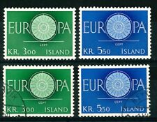 ICELAND ISLAND OLD STAMPS 1960 - EUROPA Stamps - UNUSED/USED