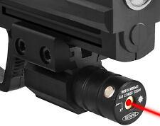 For Gun Rail Pistol Weaver Tactical Red Laser Beam Dot Sight Scope US New