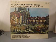 Barok Klarinetten Konzerto - Vivaldi-Telemann-Molter