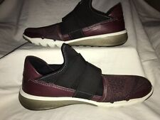 Ecco Intrinsic 2 Band Maroon Mesh Slip On Sneakers Men's Size 46/US 12