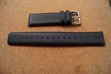 LONG BLACK LEATHER  TED BAKER  WATCH STRAP 22MM