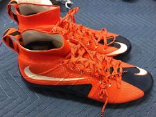 Nike Vapor Untouchable Td Flyknit Football Cleats Orange Blue 707455 810 Mens 15