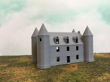Medieval French Castle Château de Champagne-sur-Vingeanne - Z Scale - 1:220