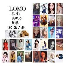 New 30pcs set Kpop f(x)  Krystal Personal Lomo Card Photo Picture Poste