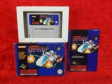 snes SUPER R-TYPE *y Boxed & Complete Nintendo PAL UK