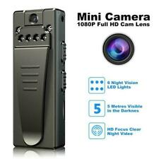 1080P HD Video DVR IR Night Cam 8-hour Motion Camcorder Mini Police Body Camera