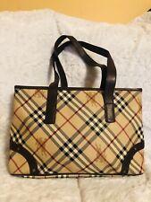 Burberry Tote Handbag Preowned