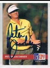 1992 Pro Set #74 Peter Jacobsen NM MT Auto