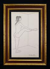 Jean PICART LE DOUX (1902-1982) Dessin représentant une danseuse danse DEGAS