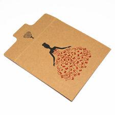 30X Thick Kraft Paper CD Sleeve Case Flap Envelope Bag for CD DVD CDR Disc Media
