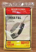 Genuine Carpet Care pk of 10 Vacuum Cleaner Bags For Upright Eureka F&G **NOS**