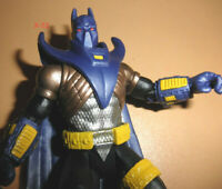 KNIGHTFALL armored BATMAN figure ARKHAM ORIGINS dark knight DC Multiverse toy