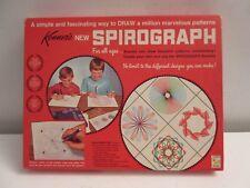 VINTAGE KENNER'S SPIROGRAPH NO.401-COMPLETE w/ BASEBOARD
