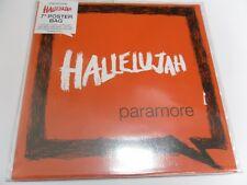 """PARAMORE """"HALLELUJAH"""" + POSTER BAG SLEEVE + ETCHED DISC + STICKER [PART 1]"""