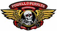 Powell Peralta Winged Ripper Skateboard Patch - 30.5cm wide approx. skate board