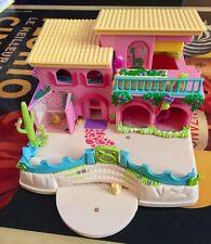 Polly Pocket Mattel 2000  Petland Hacienda Ranch Magnetic Play Set