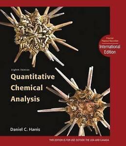 Quantitative Chemical Analysis by Daniel C. Harris (Hardcover, 2010)