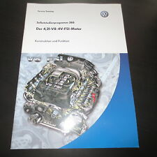 VW SSP Nr. 388 / Der 4,2 L V8 4V FSI Motor im Audi Q7 und VW Touareg I