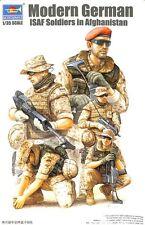 Trumpeter 1:35 Modern German ISAF Soldiers in Afghanistan Plastic Figure #00421