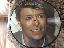 David Bowie Interview Picture Disc 12' Vinyl