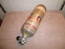 Survivair SCBA 45-Minute Luxfer Air Tank 4500psi w/ CURRENT HYDRO Fireman Rescue