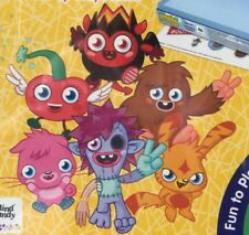 Colorforms Moshi Monsters 3D Deluxe Play Set Sealed Kids