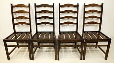 4 Ercol Ladderback Dining Chairs FREE Nationwide Delivery